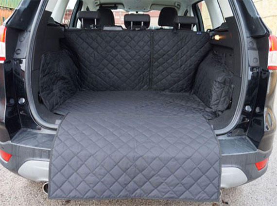 Semi Tailored Black Heavy Duty Rear Seat Cover for Kuga 2012-2020 Premier Products