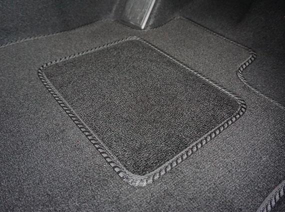 CITROEN C4 PICASSO 2007-2013 TAILORED CAR FLOOR MATS CARPET BLACK MAT GREY TRIM