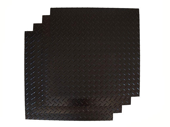 3mm Rubber Matting - Diamond Design Example